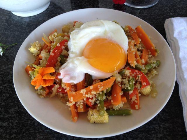 Quinoa and Veggie Stir Fry