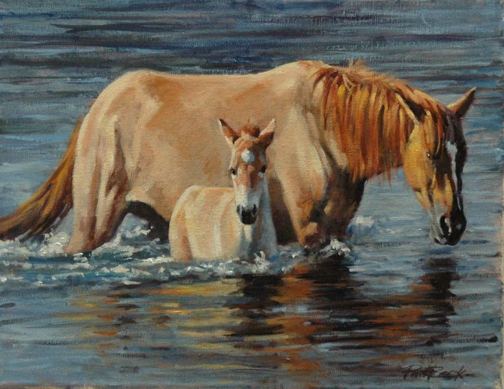 Horse painting by Phil Beck   Art - Horses   Horse art ...