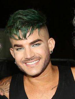 Queen + Adam Lambert concert in Tel Aviv, Israel, 12 Sep 2016  Green hair, zip sides, and love that smile ❤️
