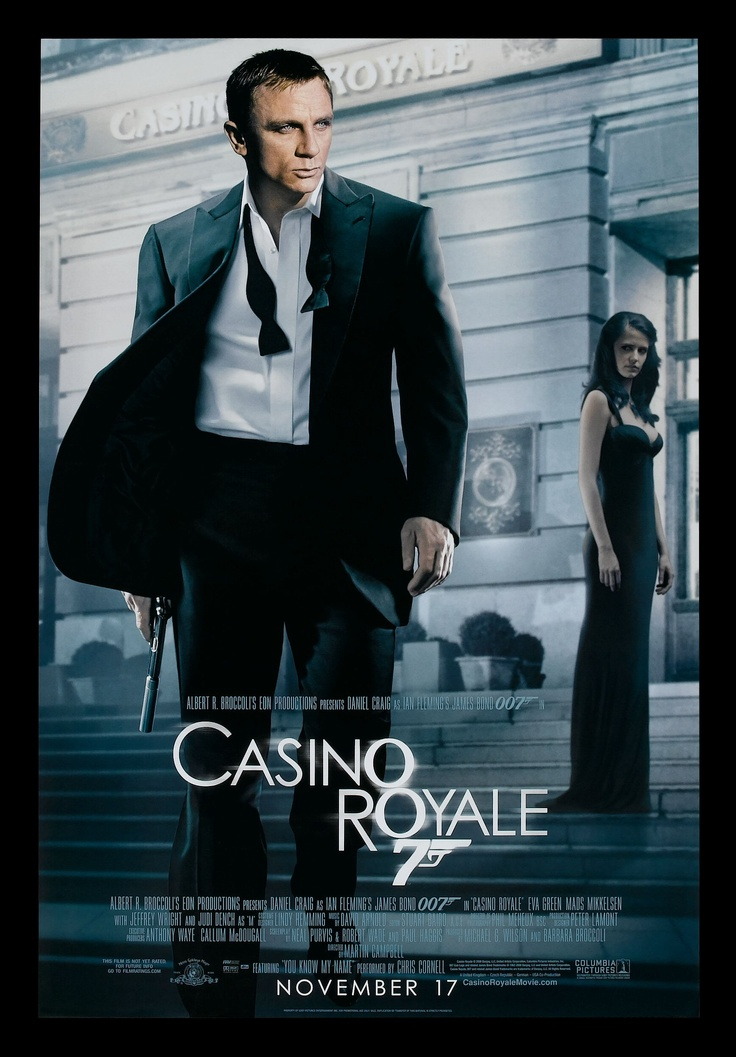 Frasi 007 casino royale
