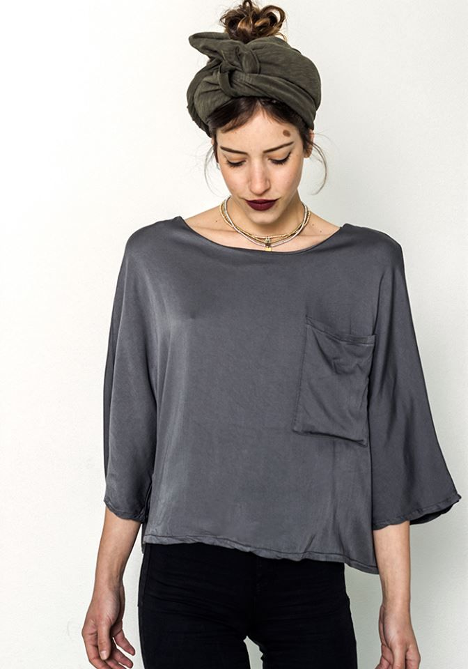 Doused in Clouds Top  by myfashionfruit.com