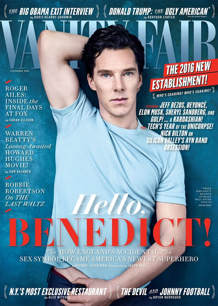 Cover Story: The Mind-Bending Benedict Cumberbatch