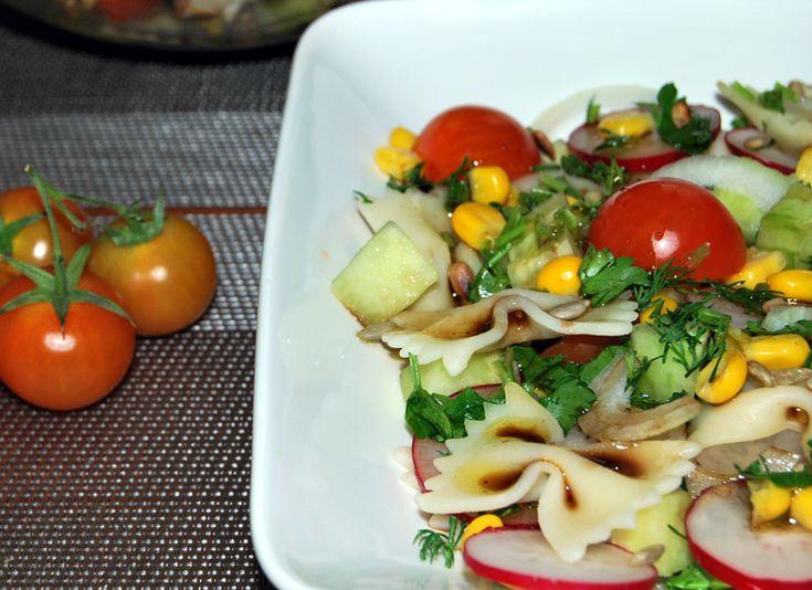 salatka w sosie miodowym