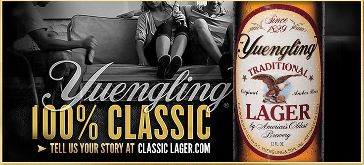 yuengling. a staple.