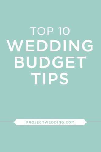Expert Advice! Every bride should know these key ways to save money on weddings /// via Project Wedding