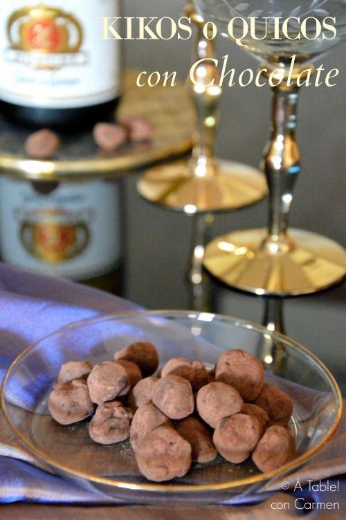 Kikos o Quicos  con Chocolate