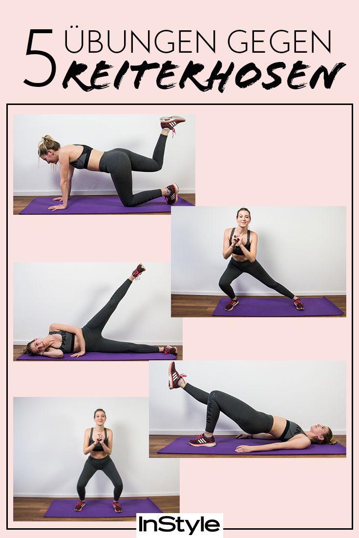 Adieu Fettpolster: Mit diesen 5 Übungen wirst du Reiterhosen los – Fitness Workout Disziplin