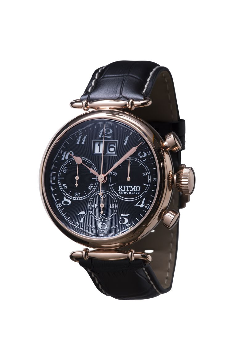 Corinthian 46mm Stainless Steel and Rose Gold Chronograph