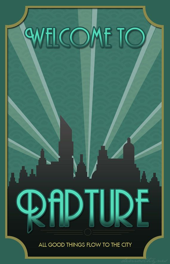 Bioshock Rapture II All Good Things Flow to by MarvelousDesignCo