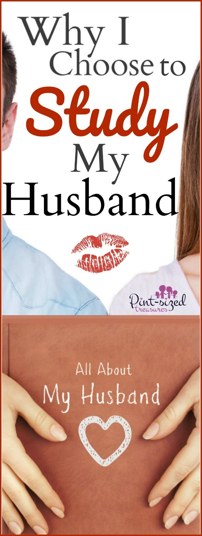 A healthy, passionate marriage is essential! One way I focus on creating a dream-come-true marriage is studying my husband.