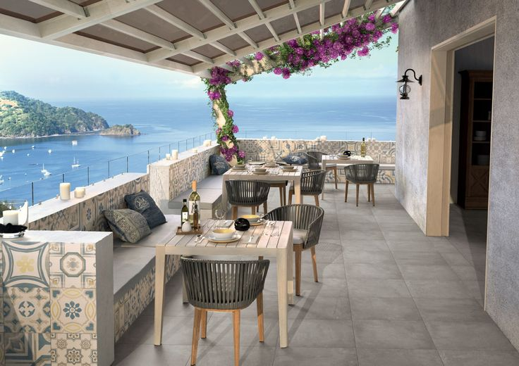 Cementine by Ceramiche Keope #MadeInItaly - #CementineColor - #Age - #Outdoor - #PorcelainStoneware - #Pattern - #Decoration