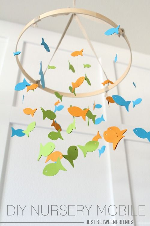 Just Between Friends: Fish Themed Nursery Mobile                                                                                                                                                                                 More