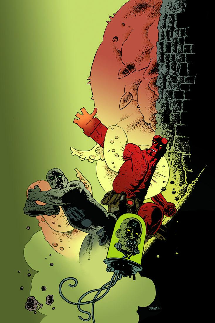 B.P.R.D. Hell on Earth #116 Mike Mignola (W), John Arcudi (W), James Harren(A), Dave Stewart(C), Rafael Albuquerque(Cover), and Richard Corben (Variant cover)