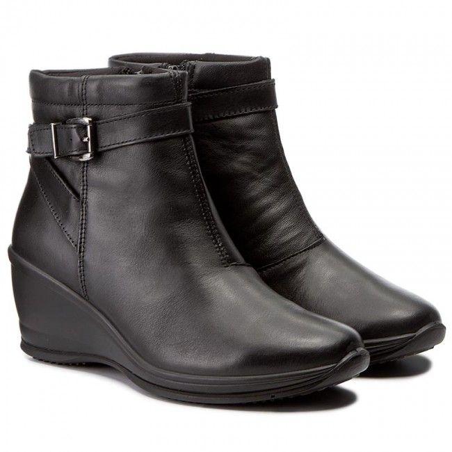 Botki IMAC - 82620 Black/Black 1400/011
