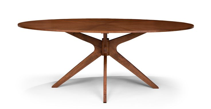 "$599  |  Article  |  Conan Oval Dining Table | 29""H x 75""W x 43.5""D"