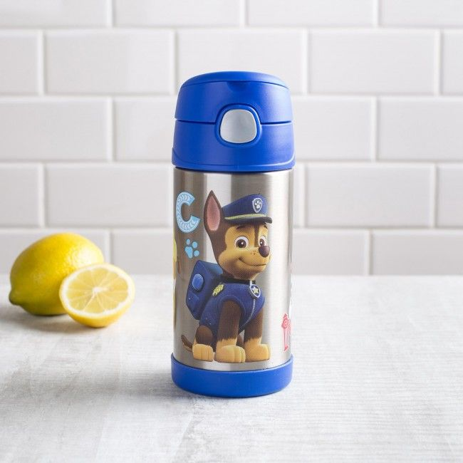 Saving the day is thirsty work - don't forget your Thermos Funtainer. With a built in straw, double wall vacuum insulation and a push button lid, you'll want to travel Adventure Bay with this Thermos.