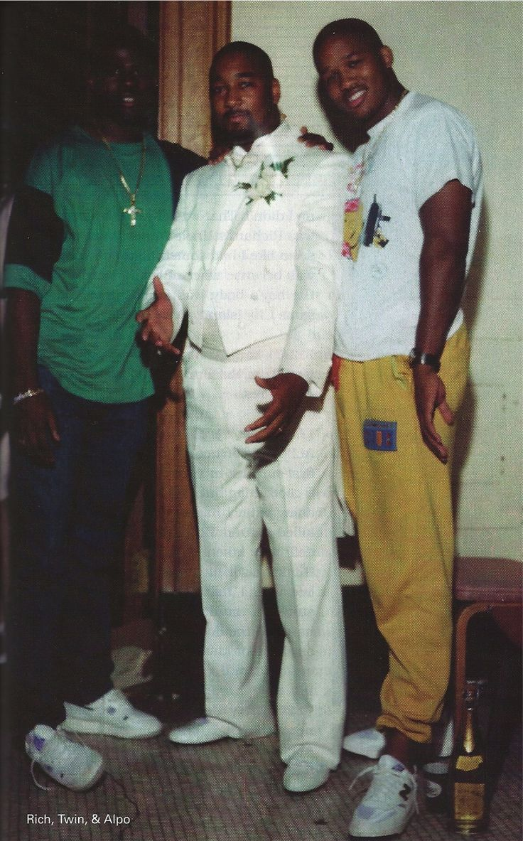Rich Porter & Alpo Martinez. Teenage drug lords in Harlem during the 80's. The movie paid in full is based on their lives