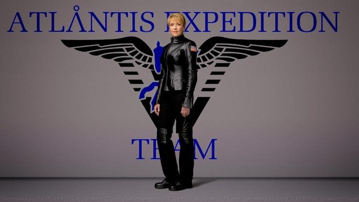 Col. Carter Atlantis Team Leader by Dave-Daring.deviantart.com on @deviantART