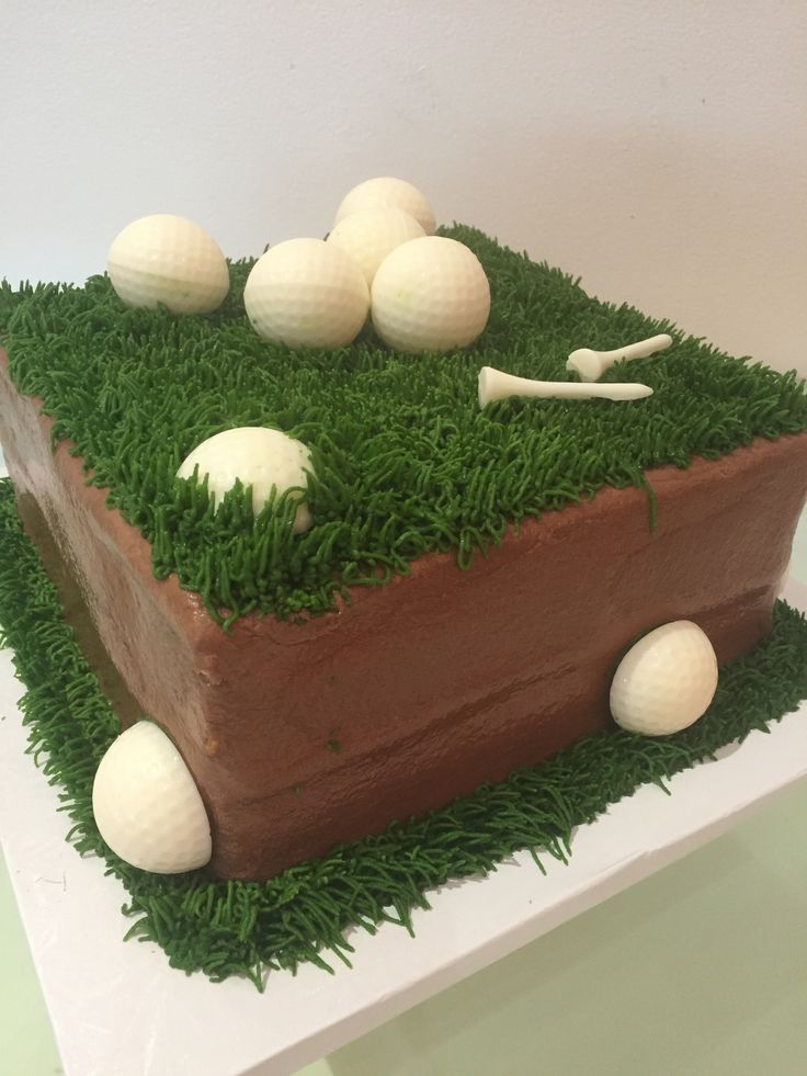 Grooms cake for your golfer! Cake was created by Icing on the Cake.
