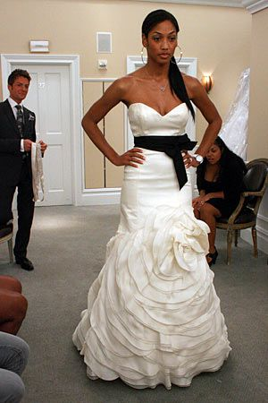 92 Black And White Wedding Dresses Kleinfeld Replace Black