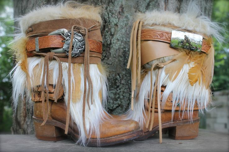 #honey #rhythm #boots #upcycled boots, OOAK