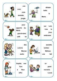 Dominos de lecture de phrases