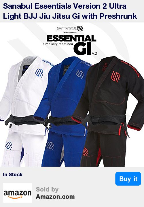 The best and only BRAND NAME gi at this price point is now better than ever. Our Essential Gi is extremely popular and sells out so fast that competing brands have had people intentionally write negative reviews in order to slow down our sales. If you have already bought our gi before and are looking to buy another, please check the new size chart as we have updated our size guide * No more shrinking! The Essentials v.2 is the only ultra light weight gi on the market that is preshrunk. You…