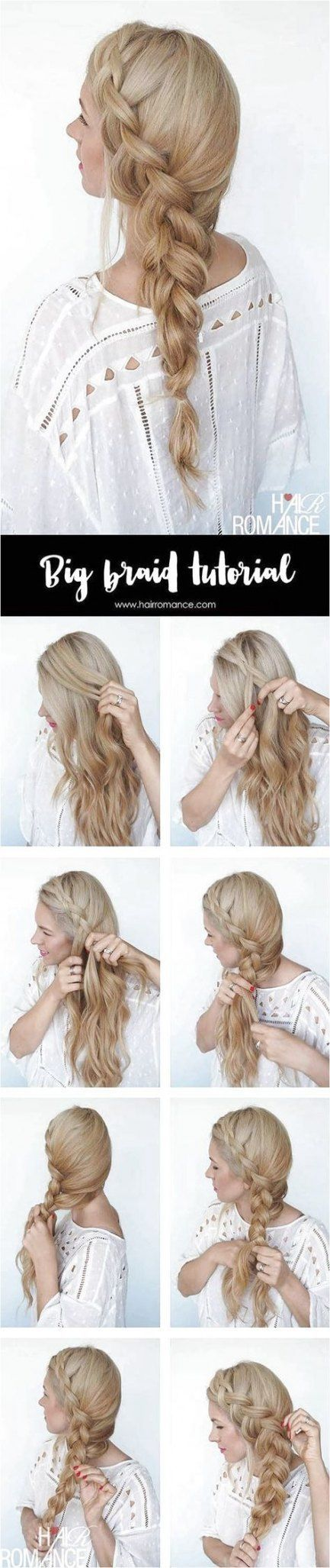 54+ New Ideas For Hairstyles For School Boho Hair Tutorials