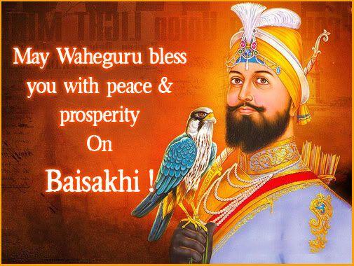 May Waheguru bless you with peace & prosperity on Baisakhi. #happybaisakhi