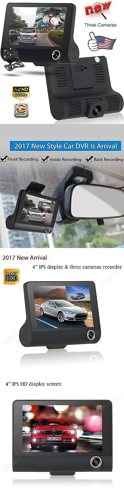 Other Car Video: New 4 Hd 1080P Dual Lens Vehicle Car Dvr Camera Rear Dash Cam Video Recorder -> BUY IT NOW ONLY: $51.01 on eBay!