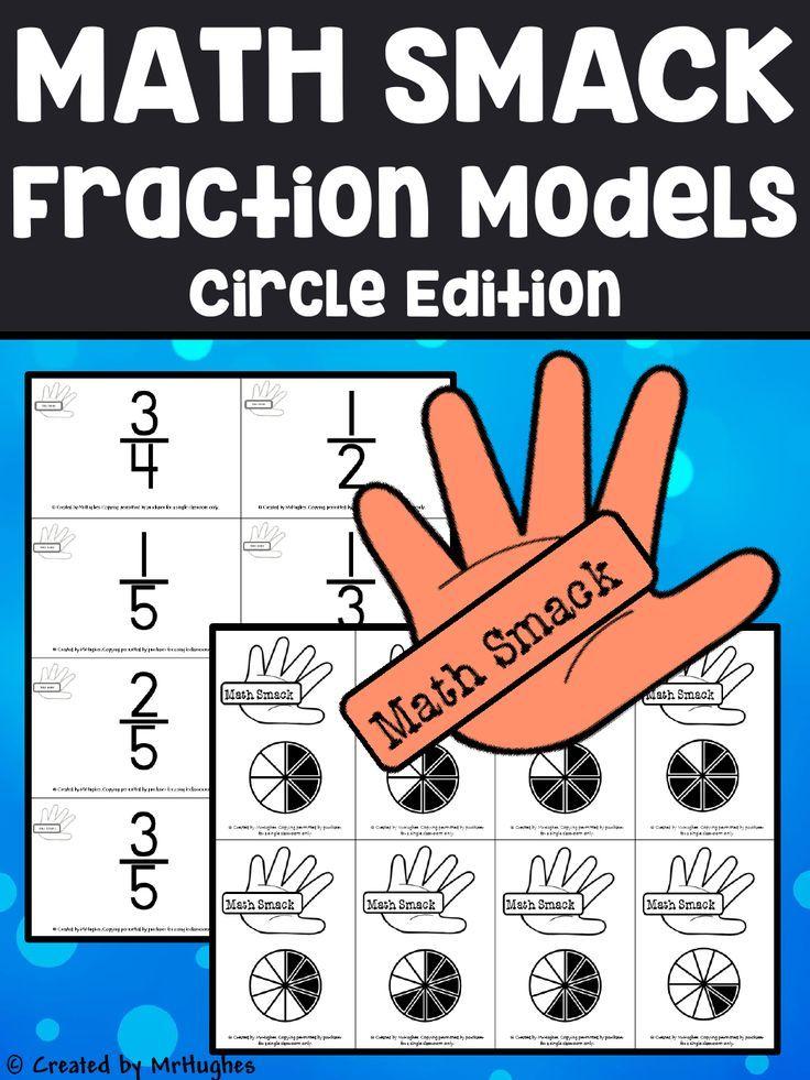 Fraction Models {Circle Edition} - Math Smack