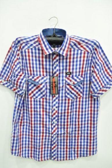 Koszula Męska Modely K-6 K-10 Kr. Rękaw  (M-3XL)