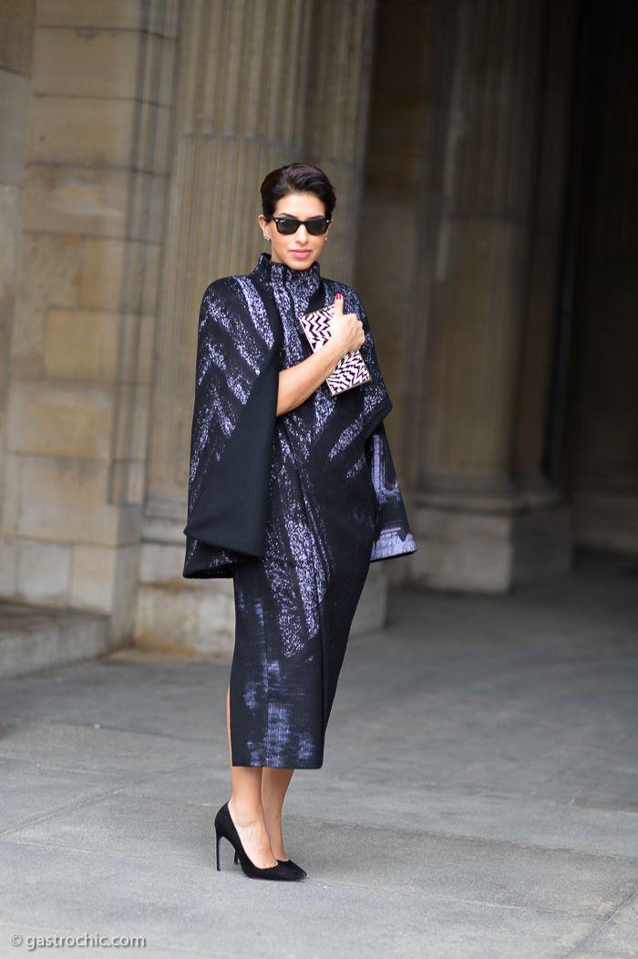 Princess in the house yo. Princess Deena Al Juhani Abdulaziz in Paris. brills outfit. she always looks incredible.
