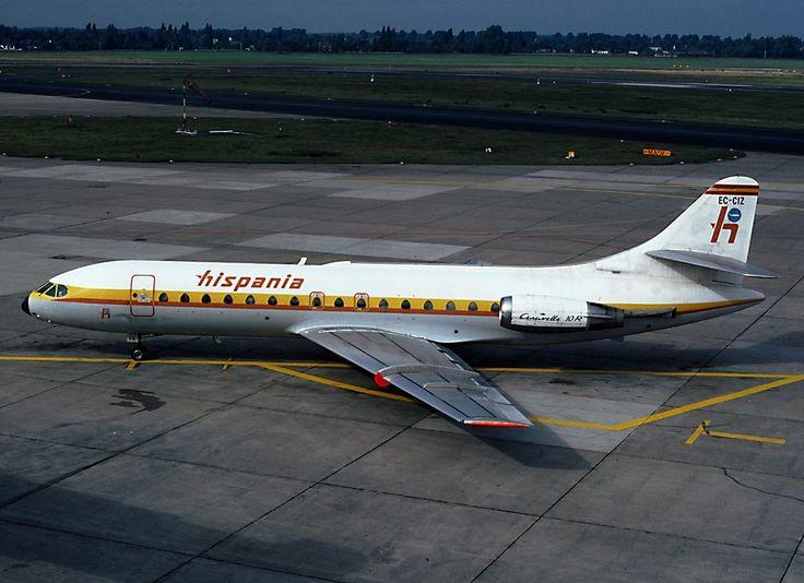 Sud_SE-210_Caravelle_10B1R,_Hispania_AN0738430.jpg (1024×744)