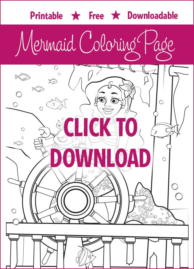 9 best Mermaid Coloring Pages images