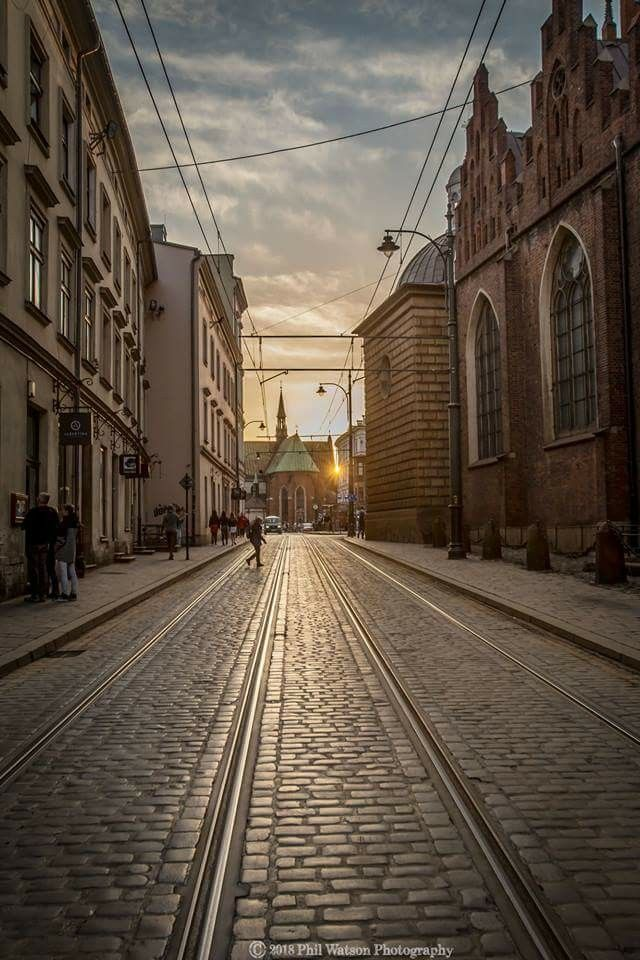 Kraków streets