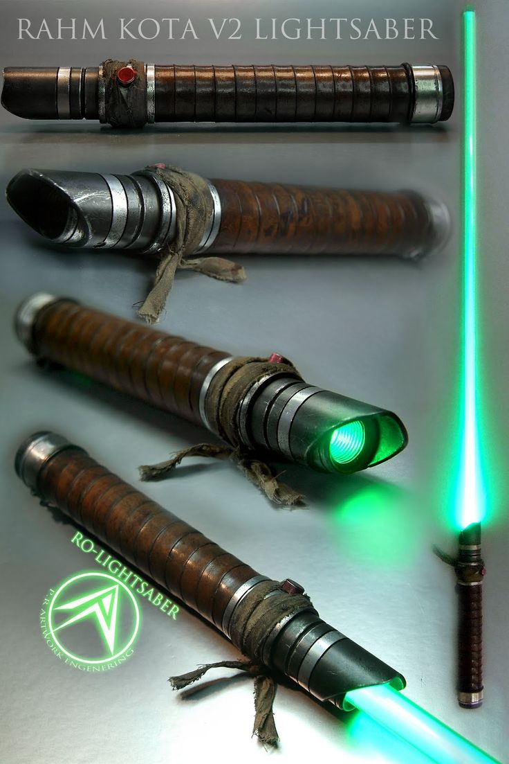 Drool Over These Custom Made Lightsabers By Roland Palotai