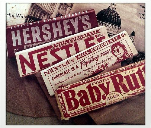 We love these vintage candy bars!  Check out our selection of retro and nostalgic candy at https://www.candy.com/Retro-Nostalgic_c_336.html