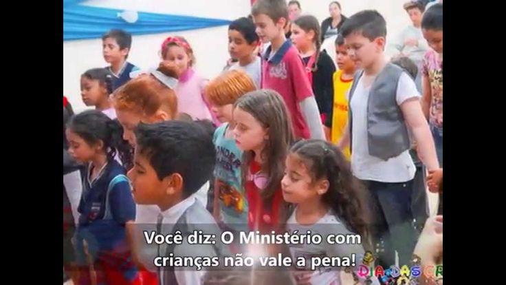 Mensagem de Homenagem e Motivação - Ministério Infantil MSA