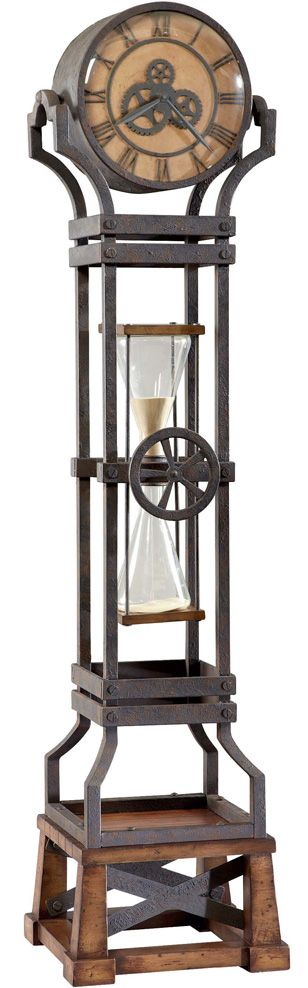 Howard Miller Hourglass Grandfather Clock