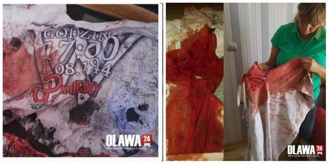 Oława: Polak ugodzony przez Ukraińca nożem za patriotyczną koszulkę?