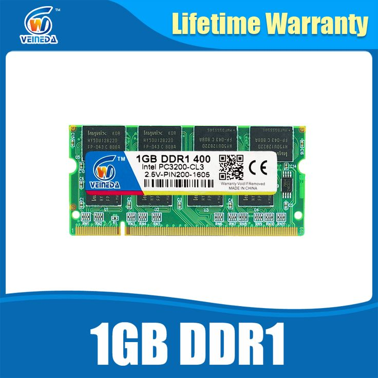 laptop memory ddr so-dimm 1gb ddr1 400 for memoria notebook compatible ddr 333 Lifetime Warranty