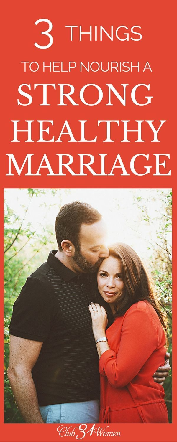 It's so easy to let the busyness of life creep in and choke out your relationship with your husband. But here are 3 things you can do right NOW to cultivate a strong, healthy marriage!