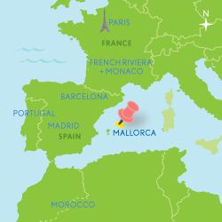 Best MALLORCA PIN IN MAPS Images On Pinterest Travel - Barcelona map of europe