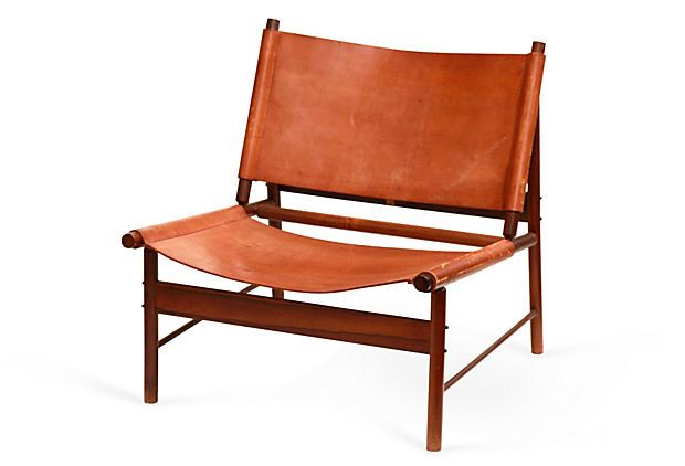 Midcentury Low Chair on OneKingsLane.com