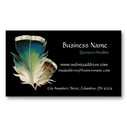 19 best native american business cards images on pinterest black with feathers business card colourmoves