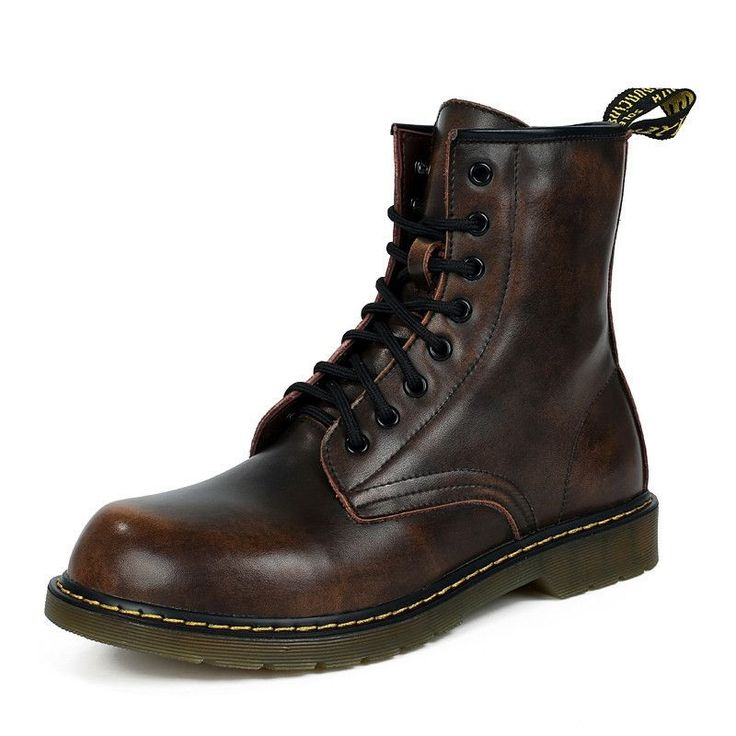 High Top Casual Martin Shoes - Men Boots - Motorcycle Boots Plus Size