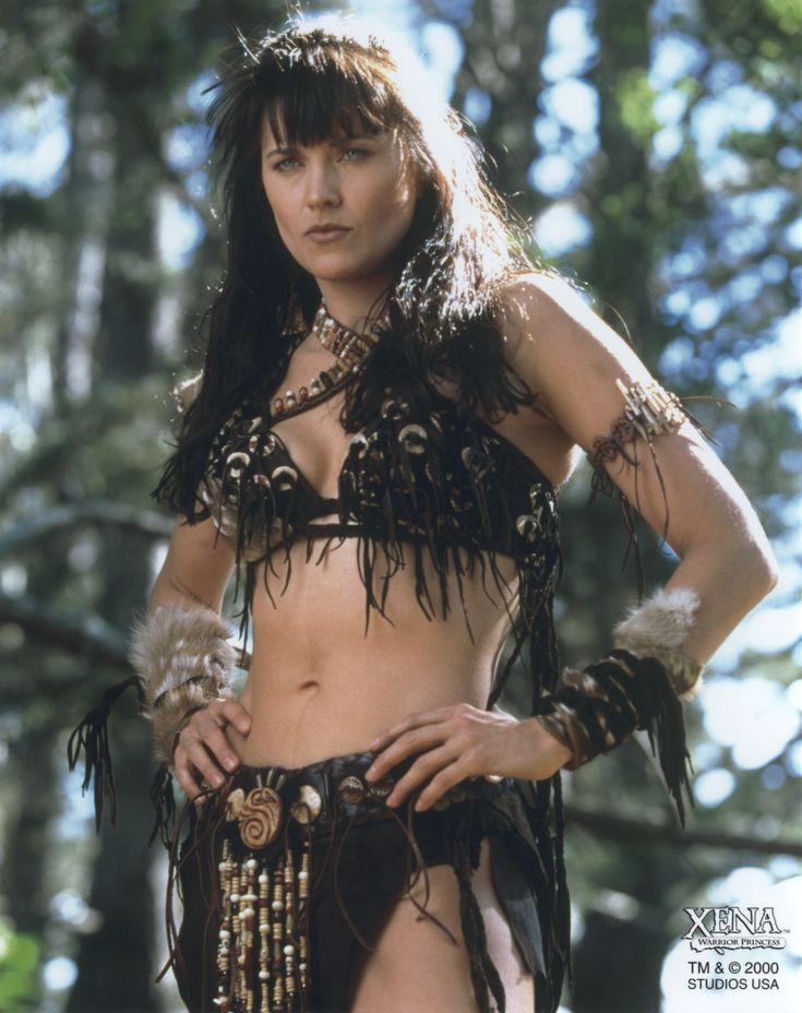 The fabulous Lucy Lawless as Xena Warrior Princess! Just oozing bitch please divaness!