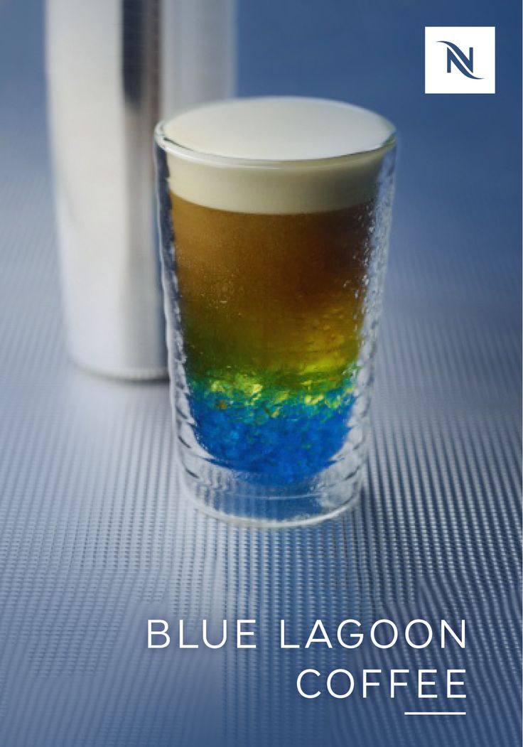 Reward yourself at the end of a long day with the unique taste of this Blue Lagoon Coffee recipe from Nespresso. The refreshingly cool taste of iced coffee is elevated thanks to the addition of Capriccio Grand Cru. Use a splash of sparkling water and a hint of passion fruit syrup to give this coffee beverage a uniquely tropical taste. Click here for the full recipe.