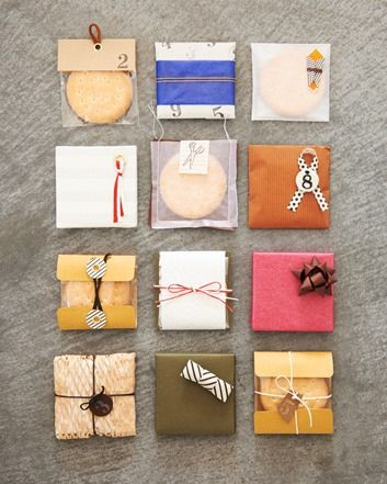 Different ways to package something.